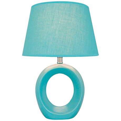 Lite Source Kito Blue Table Lamp