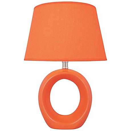 Lite Source Kito Orange Table Lamp