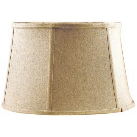 Tan Softback Lamp Shade 11x13.5x8.5 (Spider)