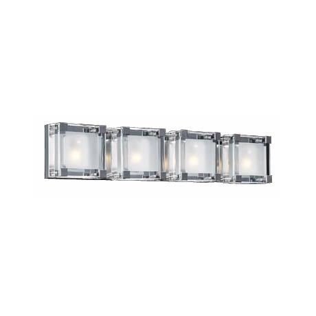"Nice Cube Four Light 26 1/2"" Wide ADA Bathroom Light"