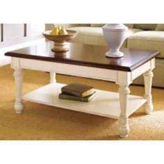 Promenade Pine Rectangular Cocktail Table