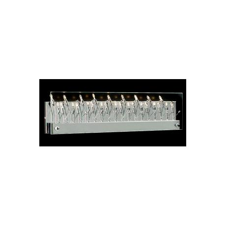 "Flora Chrome 24"" Wide ADA Bathroom Light Fixture"