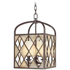 "Harlequin Collection 13"" Wide 3-Light Chandelier"