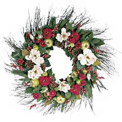Winter Wreath at LAMPS PLUS