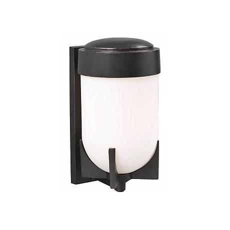 "Prato Oil-Rubbed Bronze 18"" High Outdoor Wall Light"