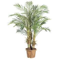 "Faux 60"" High Robellini Palm Tree"