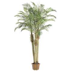 "Faux 96"" High Robellini Palm Trees"