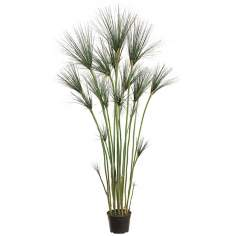 "Faux 60"" High Egyptian Onion Grass Tree"