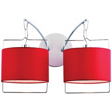 "Passion 2-Light 16 1/2"" Wide Wall Sconce"