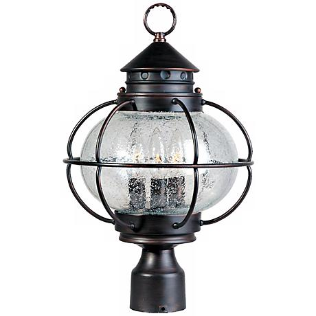 "Nautington 16"" High Outdoor Post Lantern"