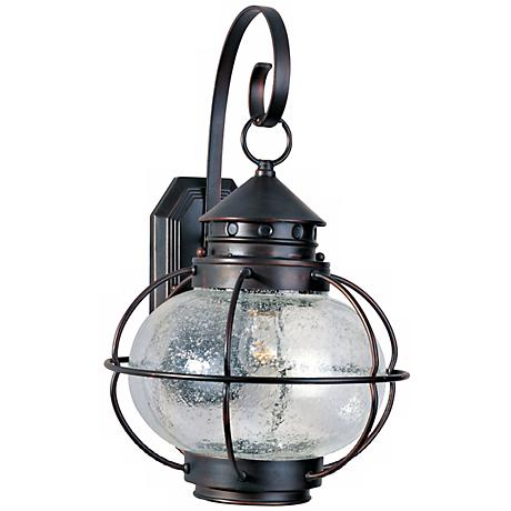 "Nautington 18"" High Outdoor Wall Lantern"
