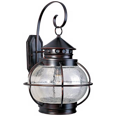 "Nautington 22 1/2"" High Outdoor Wall Lantern"