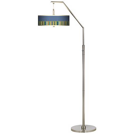 Stacy Garcia Modern Palette Giclee Arc Floor Lamp