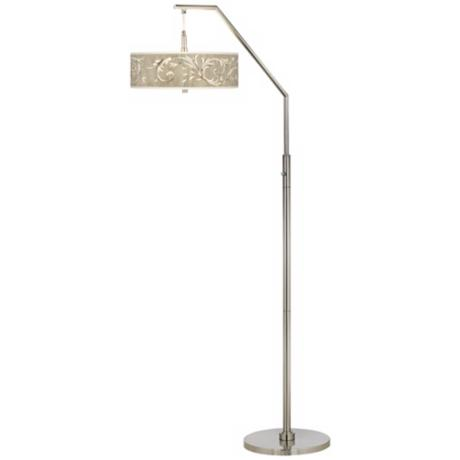 Laurel Court Shade Arc Floor Lamp