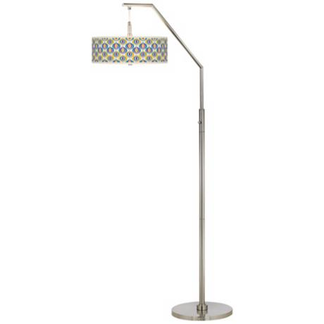 Scatter Giclee Boom Arc Floor Lamp