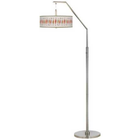Tremble Giclee Boom Arc Floor Lamp