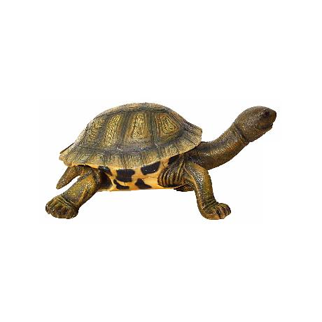 "Small Tortoise 29"" Wide Decorative Sculpture"
