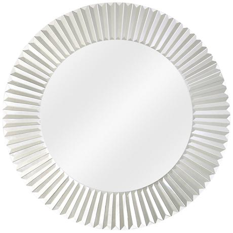 "Bezel Trim Round 30"" Wide Wall Mirror"