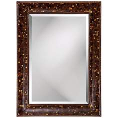 "Coco Shell Inlay 45"" High Wall Mirror"