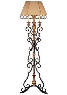 "Ambience Monte Titano Oro 70"" High Floor Lamp"