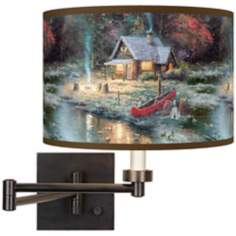 Thomas Kinkade The End Of A Perfect Day II Wall Light
