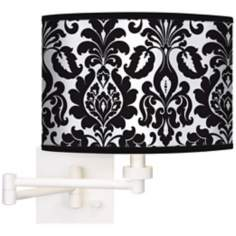 Stacy Garcia Metropolitan Giclee White Swing Arm Wall Light
