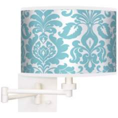 Stacy Garcia Landscape Florence Giclee White Swing Arm Wall Light