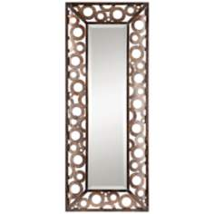 "Uttermost Augusto Openwork 49"" High Wall Mirror"