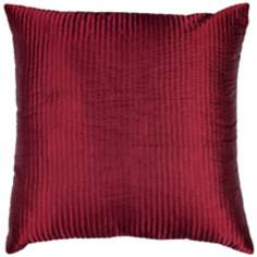 Red Polyester Pillow