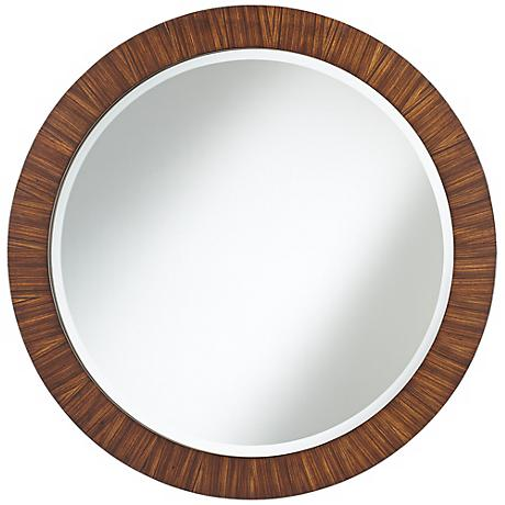 "Uttermost Jules Round 35"" Wide Wall Mirror"