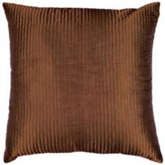 Rust Polyester Pillow
