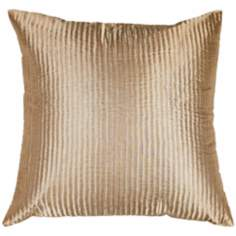 Tan Polyester  Pillow
