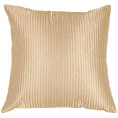 Cream Polyester Pillow