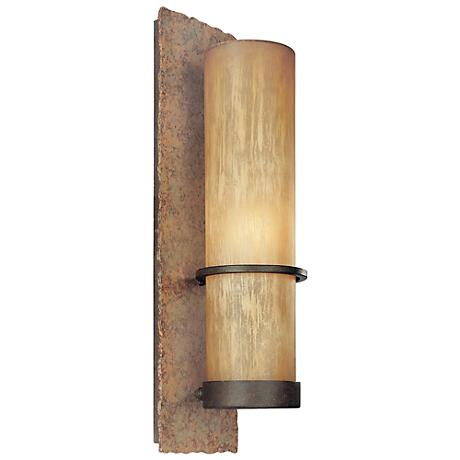 "Jabandi 19"" High Indoor-Outdoor Wall Light"