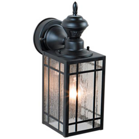 "Point Grove 14 1 4"" High Motion Sensor Outdoor Light"