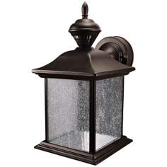 City Carriage Style Black Finish ENERGY STAR® Outdoor Light
