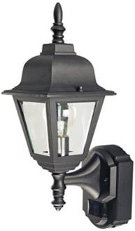 Country Cottage Black ENERGY STAR Outdoor Wall Light (H6924)