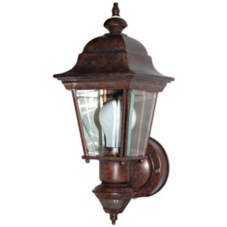 Artisan Rustic Brown ENERGY STAR® Outdoor Wall Light