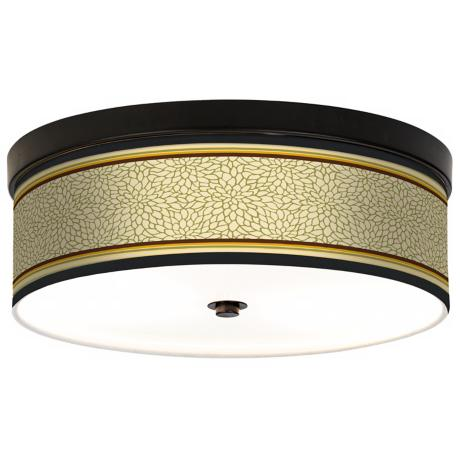 Stacy Garcia Avocado Dahlia CFL Bronze Ceiling Light