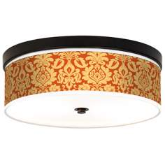 Stacy Garcia Harvest Florence CFL Bronze Ceiling Light