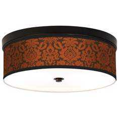 Stacy Garcia Spice Florence CFL Bronze Ceiling Light