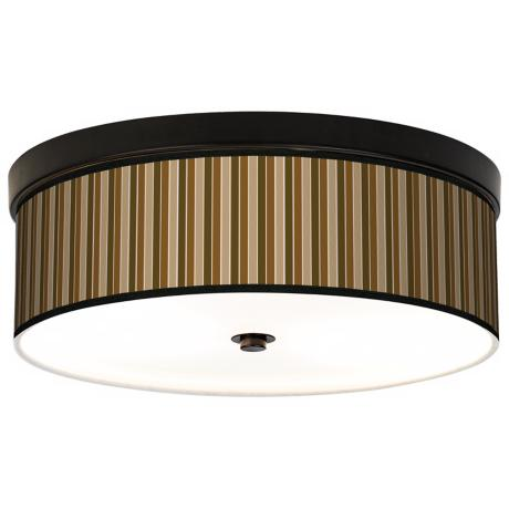 Sorrel Vertical Bronze Energy Efficient Ceiling Light