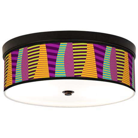 Mambo Giclee Energy Efficient Bronze Ceiling Light