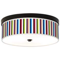 Technocolors Giclee Energy Efficient Bronze Ceiling Light