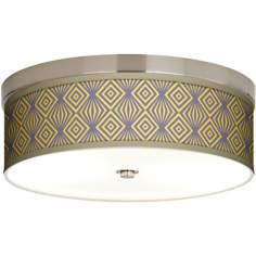 Deco Revival Giclee Energy Efficient Ceiling Light