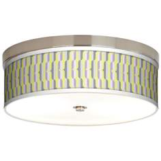 Side By Side Giclee Energy Efficient Ceiling Light