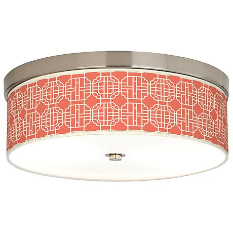 Mandarin Giclee Energy Efficient Ceiling Light