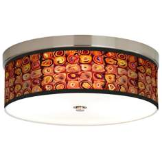 Vibrating Colors Giclee Energy Efficient Ceiling Light