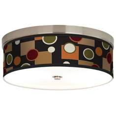 Retro Medley Giclee Energy Efficient Ceiling Light