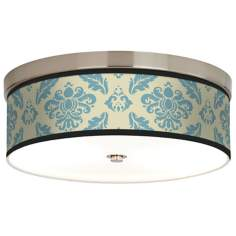 Azure Crest Giclee Energy Efficient Ceiling Light